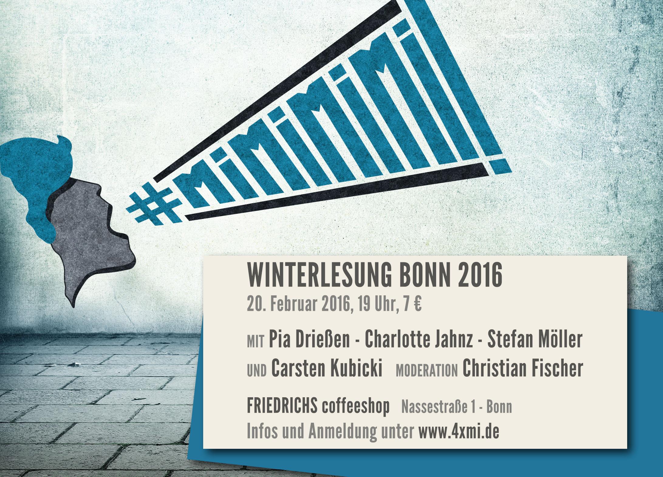 Winterlesung Bonn 2016